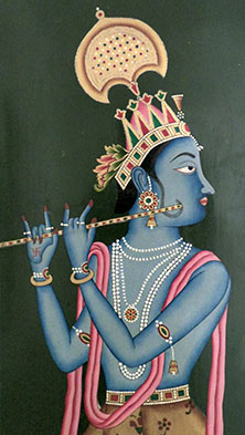 Krishna at the Bikaner fort